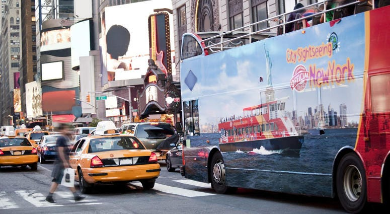 Sightseeing Tour Bus NYC