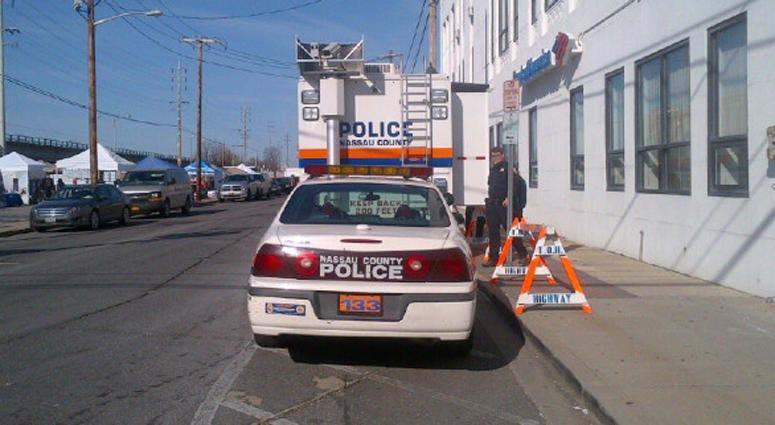 Nassau County Police Car