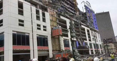 New Orleans hotel collapse