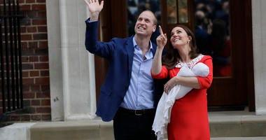 Prince William, Duchess Kate and Newborn Baby