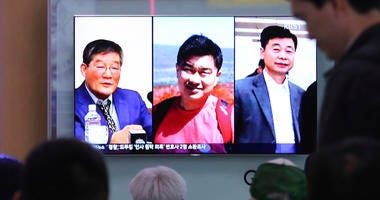 North Korean Detainees Released