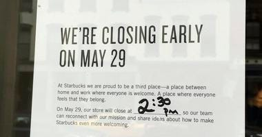 Starbucks Closing For Training