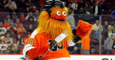 The Philadelphia Flyers mascot