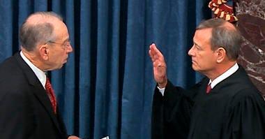 Chief Justice John Roberts sworn in
