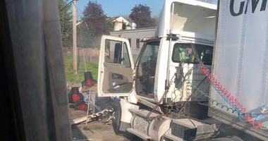 LIRR Hits Tractor-Trailer