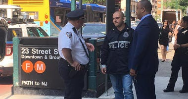 NYPD Investigates Firecracker On F Train