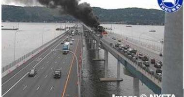 Mario M Cuomo Bridge Vehicle Fire