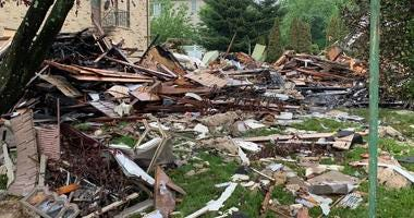 New Jersey home explosion aftermath