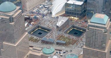 World Trade Center Memorial On The 25th Anniversary Of The 1993 Truck Bombing