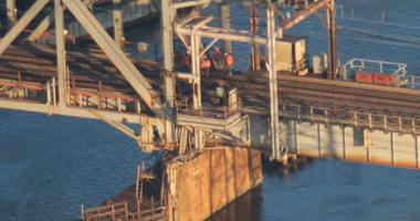 Track Inspection On New Jersey's Portal Drawbridge