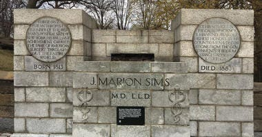 J. Marion Sims Statue Removed