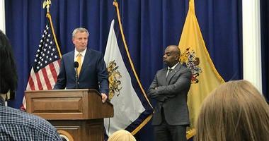 New York Mayor Bill De Blaso, Newark Mayor Ras Baraka