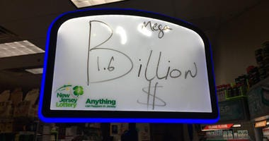$1.6 Billion Mega Millions