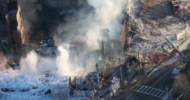 Fire destroys Marcal Paper plant