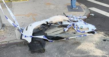 SUV bus crash