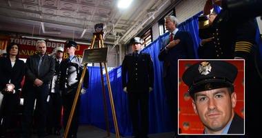 Steven Pollard Plaque Ceremony