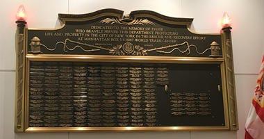 FDNY 9/11 Plaque