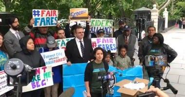 Rally For Fair Fares