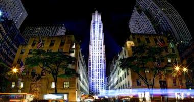 Rockefeller Center Traffic