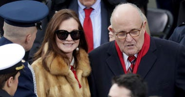 Rudy and Judith Giuliani
