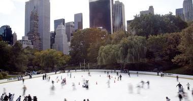 Central Park Trump Ice Skating Rink