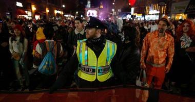 Halloween Parade Security