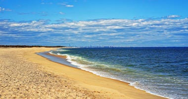 Sandy Hook Beach