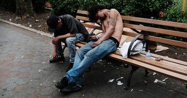 Heroin users