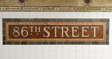 86th Street Subway Station Sign