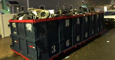 Sewage backup in Queens