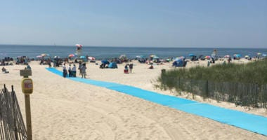 Smith Point Park Beach