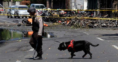 Indonesia Church Bombing