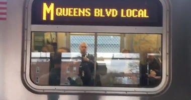 M Subway Train