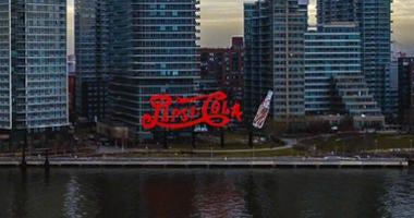 Pepsi-Cola Sign in Queens