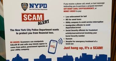 NYPD phone scam