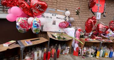 Memorial for 18-year-old Marilyn Cotto Montanez