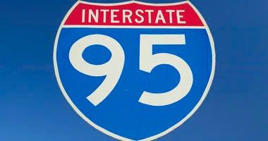 Interstate 95 Sign
