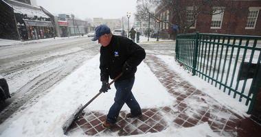 Snow New Jersey