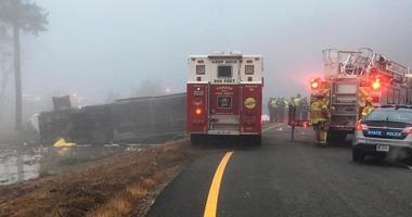 Charter Bus Crash Virginia