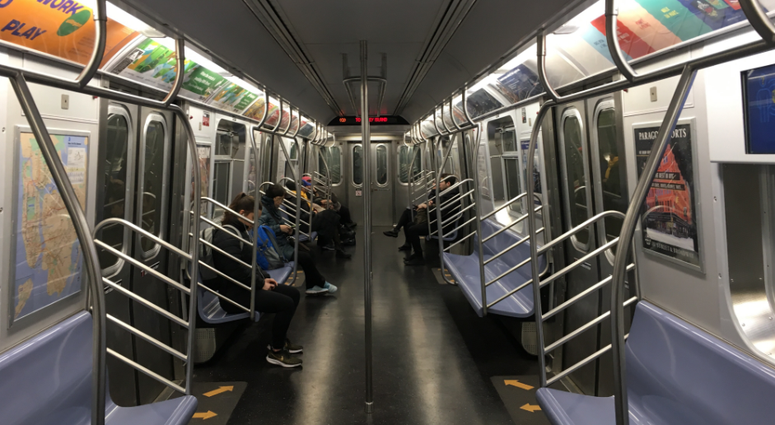 subway q train