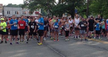 The Valerie Fund Walk at Verona Park on June 14, 2014