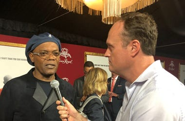 Brad Blanks and Samuel L Jackson