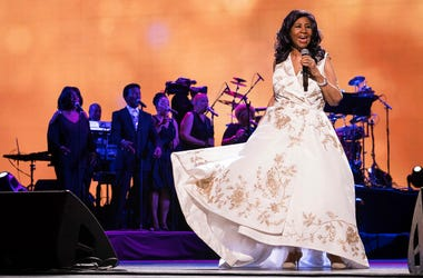 """Aretha Franklin performs at the world premiere of """"Clive Davis: The Soundtrack of Our Lives"""""""