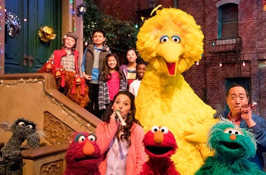 "Big Bird, Elmo and stars of ""Sesame Street"""