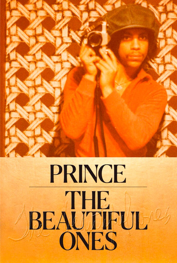 "This image provided by Random House shows the cover of ""The Beautiful Ones,"" a memoir Prince was working on at the time of his death. The book is due out in late October 2019."