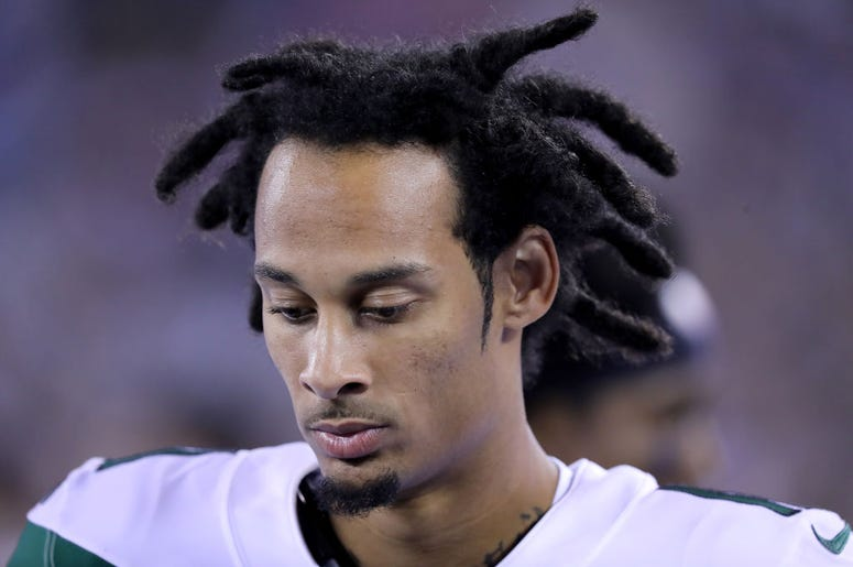 Robby Anderson #11 of the New York Jets