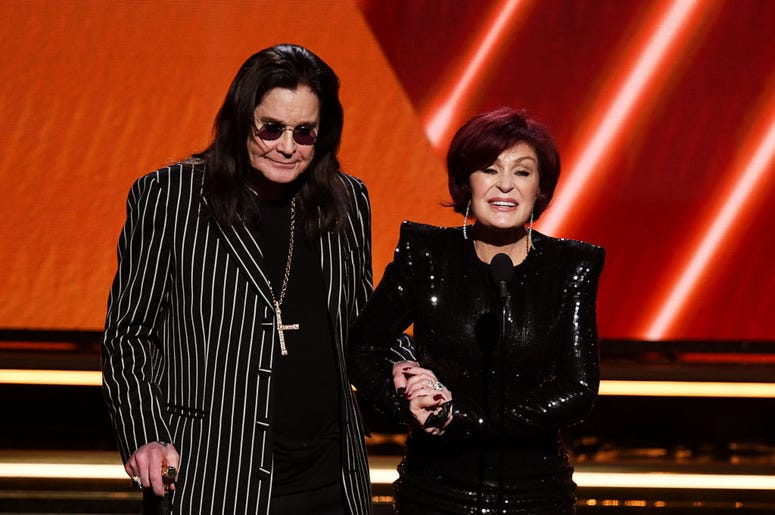 Ozzy and Sharon Osbourne