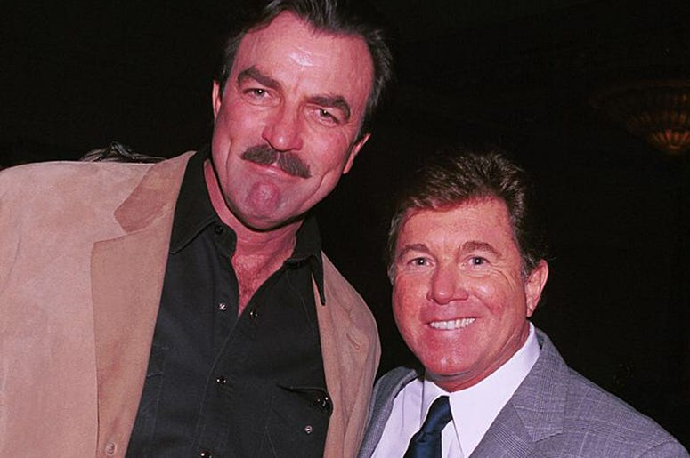 Tom Selleck and Larry Manetti