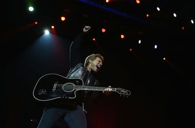 Bon Jovi live in Perth, AU