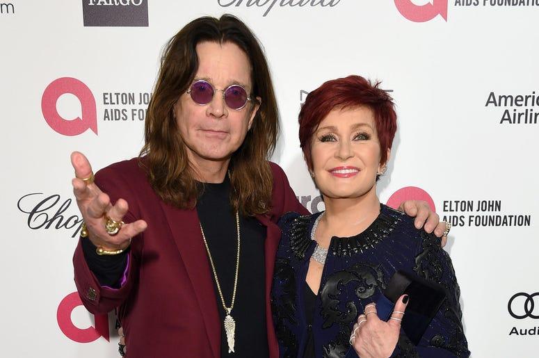 Sharon and Ozzy Osbourne